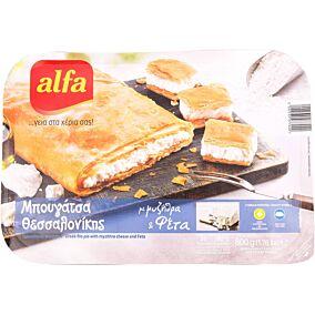 Μπουγάτσα ALFA με τυρί κατεψυγμένη (800g)
