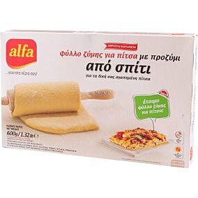 Φύλλο ALFA για πίτσα, κατεψυγμένο (600g)
