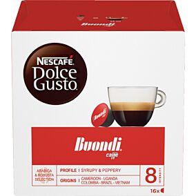 Καφές NESCAFÉ dolce gusto espresso buondi σε κάψουλες 16τεμ. (112g)