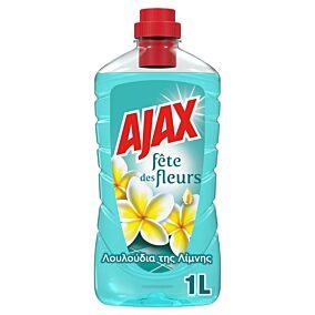 Καθαριστικό AJAX για το πάτωμα fete des fleurs λουλούδια της λίμνης, υγρό (1lt)