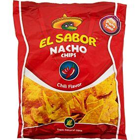 Τσιπς τορτίγια NACHO CHIPS chili (225g)