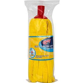 Σφουγγαρίστρα MULTY FOAM μεγάλη με χοντρό κάλυκα κίτρινη