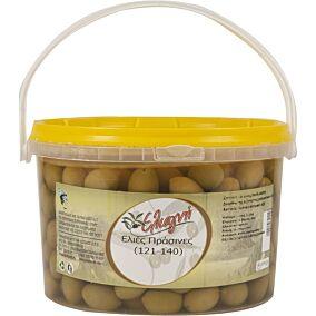 Ελιές ΕΛΙΑΓΝΗ πράσινες No.121-140 (3kg)