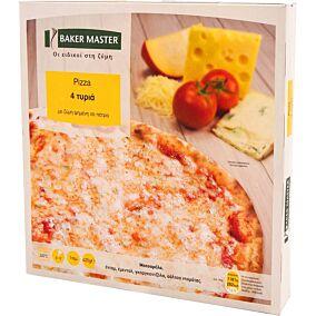 Πίτσα BAKER MASTER 4 τυριά κατεψυγμένα (420g)