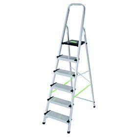 Σκάλα PALBEST Hobby XXL αλουμινίου, 6+1 σκαλιών