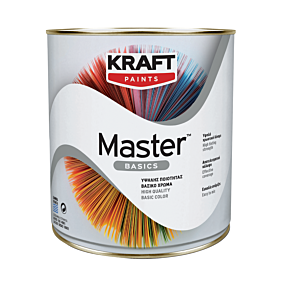 Χρώμα KRAFT Master Basics ακρυλικής βάσης, κόκκινο (180ml)