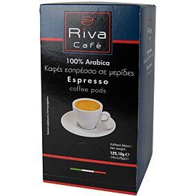 Καφές RIVA CAFÉ platinum σε κάψουλες (18x6,95g)