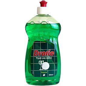 Απορρυπαντικό πιάτων DROLIO regular, υγρό (500ml)