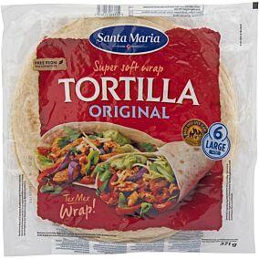 Τορτίγια SANTA MARIA wrap (371g)