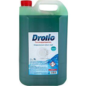 Απορρυπαντικό πιάτων DROLIO ΓΙΑ ΕΠΑΓΓΕΛΜΑΤΙΕΣ regular, υγρό (5lt)