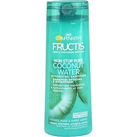 Σαμπουάν GARNIER FRUCTIS coconut water δυναμωτικό (400ml)