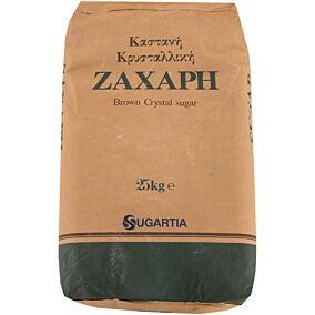 Ζάχαρη DIAMANT καστανή κρυσταλλική Κολομβίας (25kg)