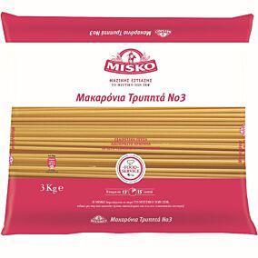 Πάστα ζυμαρικών MISKO τρυπητά No.3 (3kg)