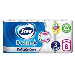 Χαρτί υγείας ZEWA Deluxe Delicate Care (8τεμ.)