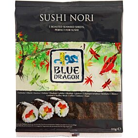Σούσι BLUE DRAGON nori (11g)