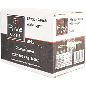 Ζάχαρη RIVA CAFÉ λευκή σε sticks (400x4g)