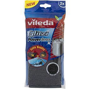 Σφουγγάρι VILEDA κουζίνας powerinox (2τεμ.)