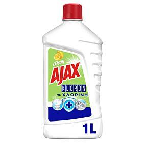 Καθαριστικό AJAX Kloron για το πάτωμα με άρωμα λεμόνι, υγρό (1lt)