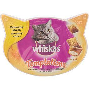 Τροφή WHISKAS γάτας temptation με κοτόπουλο και τυρί (60g)