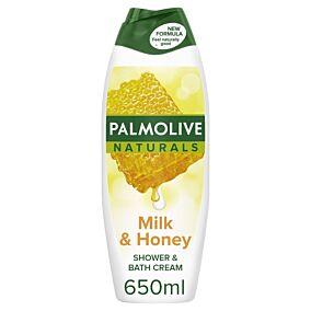Αφρόλουτρο PALMOLIVE μέλι και γάλα (650ml)