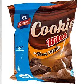 Μπισκότα ΑΛΛΑΤΙΝΗ Cookie Bites με γέμιση κακάο (70g)