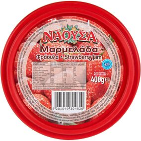 Μαρμελάδα ΝΑΟΥΣΑ φράουλα (400g)