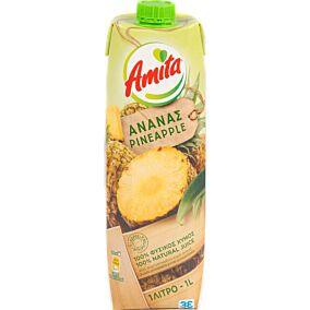 Φυσικός χυμός AMITA ανανά (1lt)