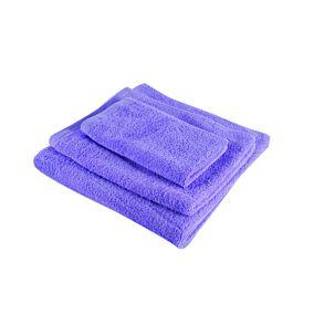 Πετσέτα YASEMI λαβέτα 100% βαμβακερή λιλά 30x30cm