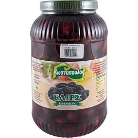 Ελιές ΚΩΖΑΤ καλαμών Νο.121-140 (2,5kg)