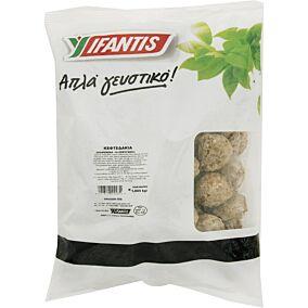 Κεφτεδάκια IFANTIS απλά γευστικό προψημένα κατεψυγμένα (1kg)