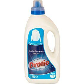 Απορρυπαντικό DROLIO ΓΙΑ ΕΠΑΓΓΕΛΜΑΤΙΕΣ πλυντηρίου ρούχων, υγρό (20μεζ.)