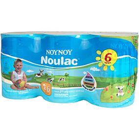 Γάλα ΝΟΥΝΟΥ Noulac 2ης βρεφικής ηλικίας 6+ μηνών (6x400g)