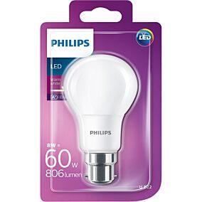 Λάμπα PHILIPS LED 8W E27 A60