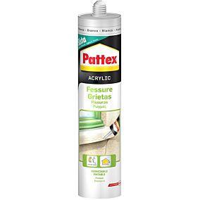 Σιλικόνη Pattex ακρυλική για ρωγμές, λευκή (280ml)
