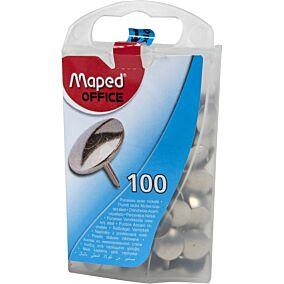 Πινέζες MAPED ατσαλένιες (100τεμ.)