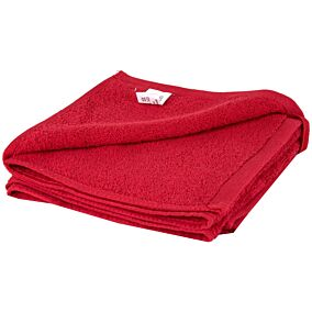 Πετσέτα YASEMI προσώπου 100% βαμβακερή κόκκινη 50x100cm