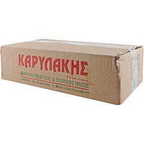 Σουβλάκι χοιρινό ΚΑΡΥΛΑΚΗΣ μπούτι-πανσέτα κατεψυγμένο σε κιβώτιο