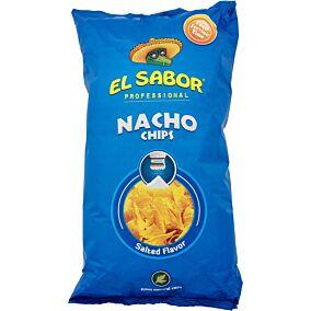 Τσιπς τορτίγια NACHO CHIPS salt (500g)