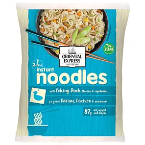 Noodles ORIENTAL EXPRESS πάπια Πεκίνου 3' (87g)