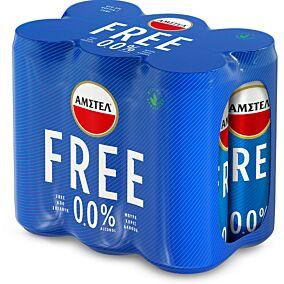 Μπύρα AMSTEL alcohol free (6x330ml)