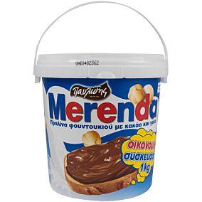 Πραλίνα MERENDA φουντουκιού (1kg)
