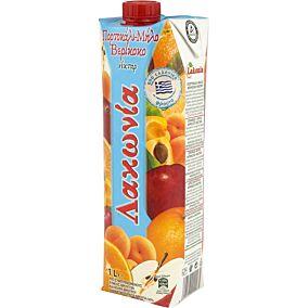 Χυμός ΛΑΚΩΝΙΑ κοκτέιλ 3 φρούτα (1lt)