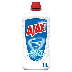 Καθαριστικό AJAX άσπρος σίφουνας regular (1lt)