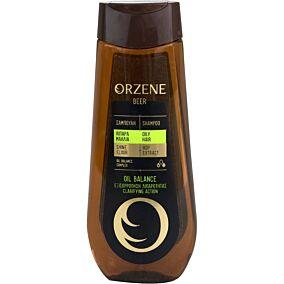 Σαμπουάν ORZENE μπύρας για λιπαρά μαλλιά (400ml)