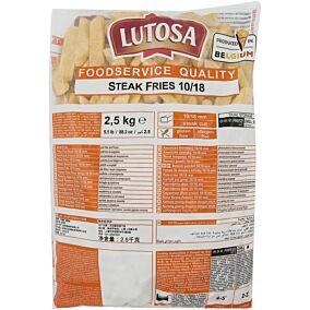 Πατάτες LUTOSA steak κατεψυγμένες 9x18 (2,5kg)