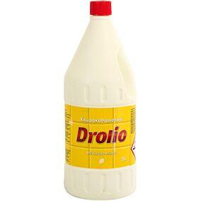 Χλωροκαθαριστικό DROLIO με άρωμα λεμόνι (2lt)