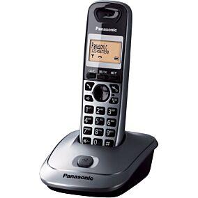 Τηλέφωνο PANASONIC KX-TG2511 ασύρματο, γκρι