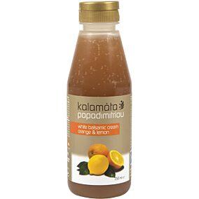 Ξύδι PAPADIMITRIOU βαλσάμικο με πορτοκάλι και λεμόνι (250ml)