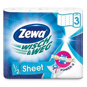 Ρολό κουζίνας ZEWA WISCH & WEG economy (3τεμ.)
