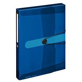 Κουτί αρχειοθέτησης E.ORGA Α4 PP 4cm μπλε